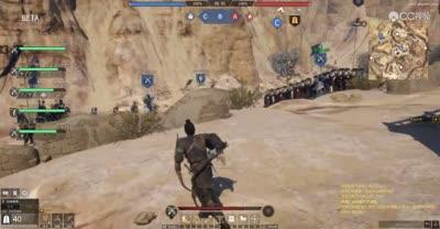 【战意野外战】排兵布阵,一夫当关守峡谷